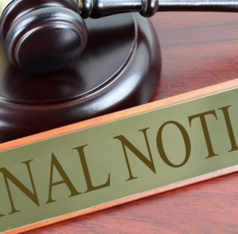 Evictions Final Notice